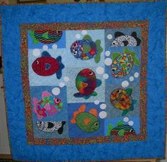 Tropical Fish / Photo Gallery / Quilts For Kids