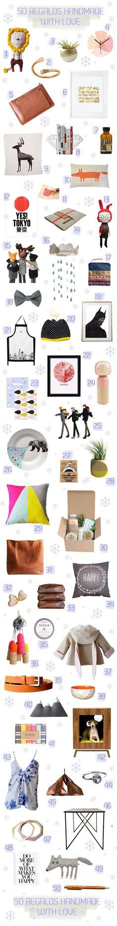 Christmas Shopping List - 2become1 Design  http://2become1studio.blogspot.com.es/2014/12/un-papa-noel-original-y-artesano.html