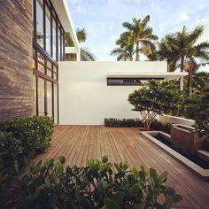 Love the simplicity of this outdoor space by @kz_architecture.  #homedesign #lifestyle #style #designporn #interiors #decorating #interiordesign #interiordecor #architecture #landscapedesign by adesignersmind