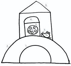 15 rajzolós mondóka - így fejlesztheted játékosan a kicsi kézügyességét! | Családinet.hu Symbols, Letters, Education, School, Drawings, Montessori, Baby, Letter, Sketches