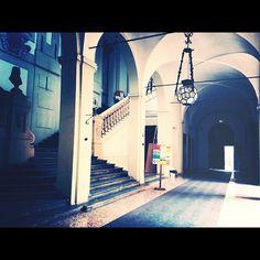 Eccoci qua per un bellissimo tour all'interno di Palazzo Marescotti, sede del Dipartimento di Musica e Spettacolo grazie alla *nostra* photoreporter della settimana @babajidegliindisposti ! Buon pomeriggio a tutti! - @twiperbole- #webstagram