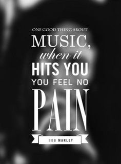 Music.....its like being bornagain in a higher level of emotion....