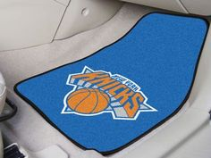 "NBA - New York Knicks 2-piece Carpeted Car Mats 17""x27"""