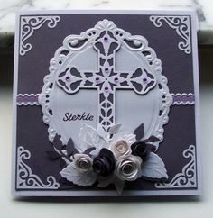 WT416 Condolence in purple by niki1 - Cards and Paper Crafts at Splitcoaststampers