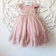 Vestido Ingrid rosa seco