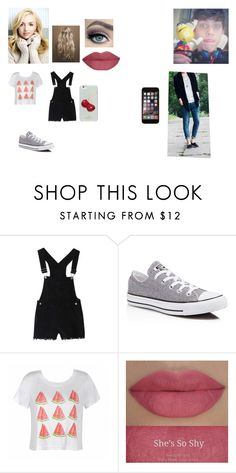 """Unconditionally - Cap. 9"" by thaliasalvatore ❤ liked on Polyvore featuring Converse, Ally Fashion, She's So and Kate Spade"