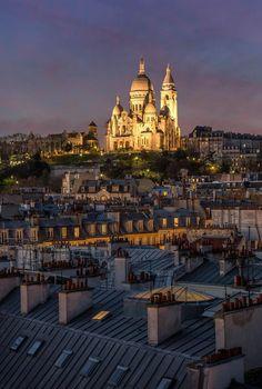 Le Sacré Coeur by © Amandio Antunes Photographie