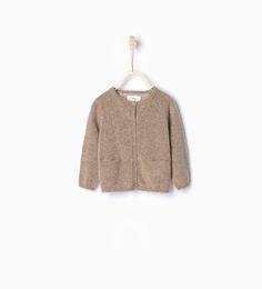 ZARA - KIDS - Cashmere knit cardigan