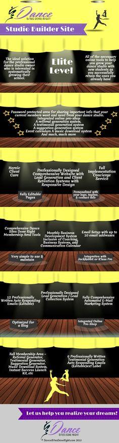 26 best dance studio marketing images on pinterest dance ballet dance studio owners who is designing your website get a studio malvernweather Gallery