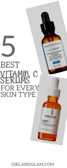 To choose the best vitamin C serums for every skin type requires a lot of care and considerations. Read on to see why these made the cut ahead of others. #vitamincserum #antioxidants #skin #skincare #skincareroutine #skincaretips Best Vitamin C Serum, Even Out Skin Tone, Uneven Skin Tone, Skin Brightening, Healthy Skin, Skin Care Tips, Sensitive Skin, Vitamins, Pinterest Makeup