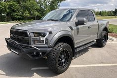 For Sale: 2018 Ford F-150 Raptor Hennessey VelociRaptor 600 (Lead Foot Gray, 3.5L EcoBoost V6, 10-speed auto, 10K miles) Rear Differential, Limited Slip Differential, Black Ford Raptor, Ford Ranger Supercab, Ford Sync, Off Road Bumpers, Svt Raptor, 20 Wheels, Oil Service