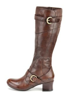 Born Aggie Tall Buckle Boot
