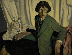 Radclyffe Hall by James McIntosh Patrick, 1928