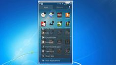 Android Tutorial 5 - Place applications in alphabetical order and Hide unused apps (Samsung Galaxy S4 - Video)