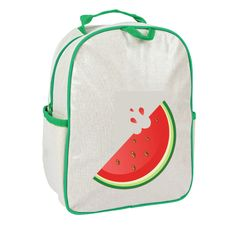 Apple and Mint - *Limited Edition* Green Watermelon Little Kid Backpack, $44.95 (http://www.appleandmint.com/limited-edition-green-watermelon-little-kid-backpack/)