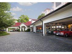Collector's garage...