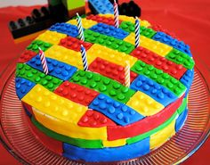 Lego Birthday Cake/ party ideas