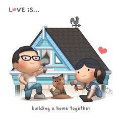 Building our home together