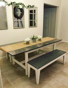Ikea Hack Farmhouse Table #diy