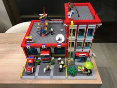 Lego Fire Station MOC | by BrickBuilder HU