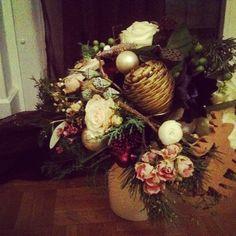 Bouquet rond de noel