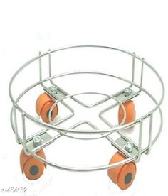 Accessories Useful Classy Cylinder Trolley Material: Stainless Steel Description: It Has 1 Piece Cylinder Trolley Country of Origin: India Sizes Available: Free Size   Catalog Rating: ★4.2 (1270)  Catalog Name: Useful Elite Home Utilities Vol 1 CatalogID_49493 C51-SC1246 Code: 952-454152-963