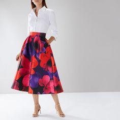 Good Quality Coast Outfits : Multi Cosette Meslita Skirt On Sale Big Skirts, Skirts For Sale, Coast Skirts, Coast Outfit, Shirt Sleeves, Midi Skirt, High Waisted Skirt, Dressing, Feminine