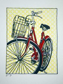 Prints Gallery | Bicycle Paintings, Prints and Custom Bike Art Portraits