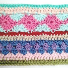 Here is the finished pattern for the as-we-go stripey blanket that was written up during not your average crochet's very first crochet along! I hope you enjoy it! (Click here for the PDF version ...