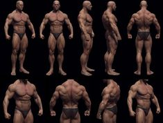 model your body as a bodybuilder!