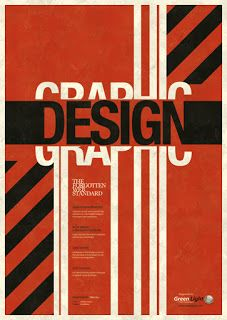 Modernism inspired poster by Mike Kus.