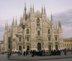 Milan Cathedral - Dedicated to Santa Maria Nascente (Saint Mary Nascent)
