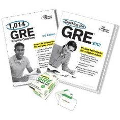 The Princeton Review's Complete GRE Test Prep Bundle brings you a thorough review of all GRE topics and the question types on the test, including text completion, sentence equivalence, reading comprehension, vocabulary, numbers and equations, real world math, geometry, essays, and more. It also provides access to 2 GRE practice tests and over 1,000 additional GRE practice questions, and a set of flashcards to help you master GRE vocabulary.