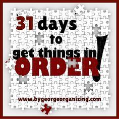 31 days blog graphic