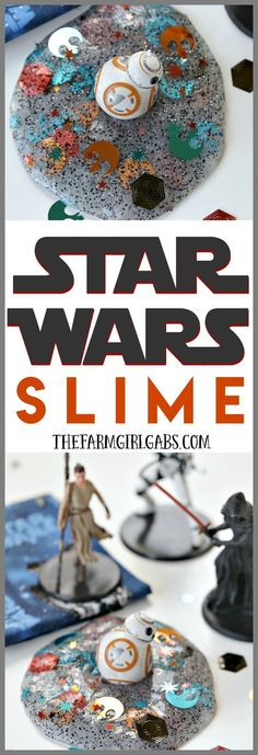 The force is strong with this slime project! You'll rule the galaxy with this easy DIY Star Wars Slime.
