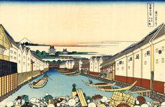 Japanese Art Print, Katsushika Hokusai, Old Masters Fine Art Print : Nihonbashi Bridge, Classical Art Iconic Mount Fuji Landscape Japanese Prints, Japanese Art, Japanese Denim, Thailand Beach, Thailand Honeymoon, Belize, Norway Beach, Mexico Places To Visit, Kamala Beach