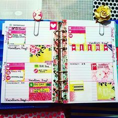 My very first week in my mini happy planner/ recollections binder :) i like it! #planners #planner #plannerlove #planneraddict #plannernerd #decoratedplanner #washitape #minihappyplanner #happyplanner #mambihappyplanner #mambi #recollectionsplanner #personalsizedplanner