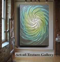 Pintura abstracta textura grande 30 x 40 moderno por artoftexture