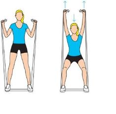 Wary of weights? Use a resistance band to strengthen and tone. (Click image for tips) #WWLoves