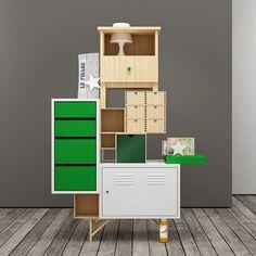 IKEA storage hack by Teste di Legno