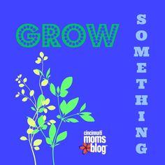 Grow Something! | Cincinnati Moms Blog