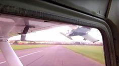 Vídeo: Pilotos evitam acidentes durante incursão de pista
