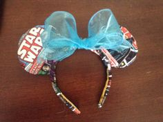 A personal favorite from my Etsy shop https://www.etsy.com/listing/250696631/mickey-star-wars-ears