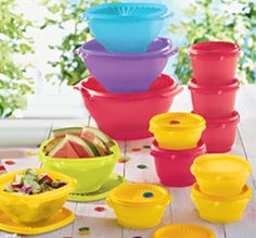 Tupperware | Servalier® 13-Pc. Bowl Set! Visit my page for information www.facebook.com/getfreetupperwarewithserena