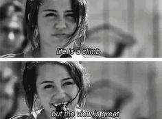 montana Miley fakes hannah cyrus caption