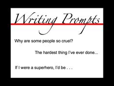 Provides a variety of fun writing prompts for kids, teens and adults. Prompts can inspire creative writing, a personal narrative or even a poem. Also features several useful websites as well as a few teaching tips for English teachers. A great resource for Elementary, Middle and High School levels. Can inspire adult writers too.  Take a look and get inspired!