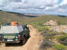 Hilux in Namaqualand