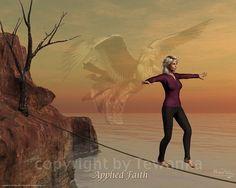 Napoleon Hill Foundation Applied Faith artwork by Michael Telapary