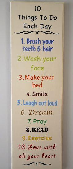 "52 Social: Things To Do Each Day"" Sign Kids could do this as a craft project for the WC. My New Room, My Room, Diy For Kids, Crafts For Kids, Tips & Tricks, Do It Yourself Home, Diy Signs, Kids Bedroom, Bedroom Ideas"