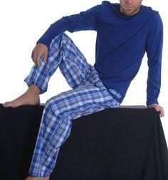 Pijama Hombre Calvin Klein M3031SSE + U1197SUD Azul